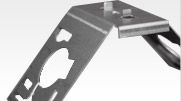 Progressive Die Stamping of a Steel Mounting Bracket for the Lighting  Industry
